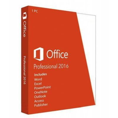 Microsoft Office 2016 Professional Plus elektronikus licensz