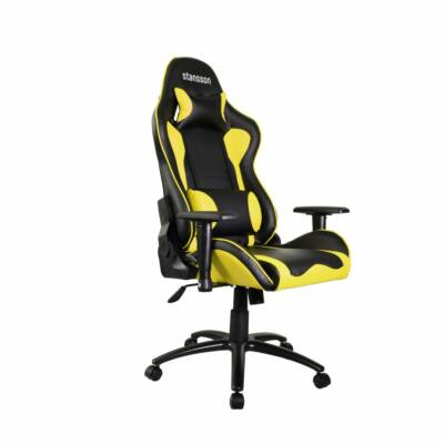 Stansson  UCE505BC Gaming Chair Black/Yellow