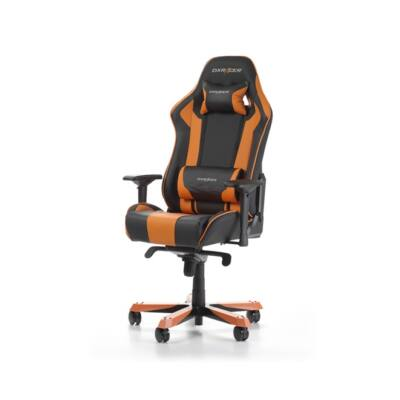 Gamer szék DXRacer King K06-NO Fekete/Narancs