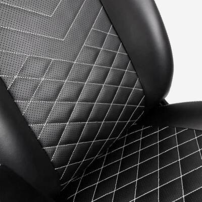 Gamer szék Noblechairs ICON PU Bőr Fekete/Platinafehér
