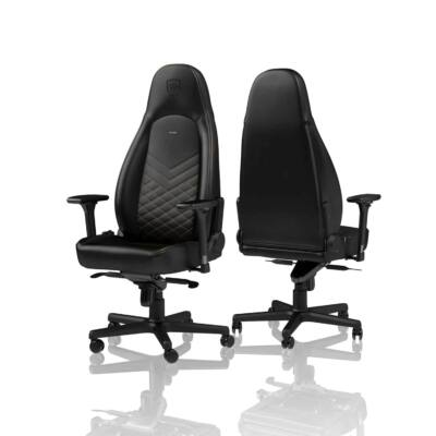 Gamer szék Noblechairs ICON PU Bőr Fekete/Arany
