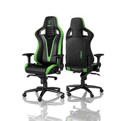 Gamer szék Noblechairs EPIC Sprout Edition Fekete/Zöld