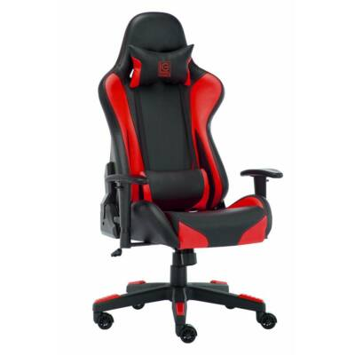 LC Power LC-GC-600BR Gaming Chair Black/Red