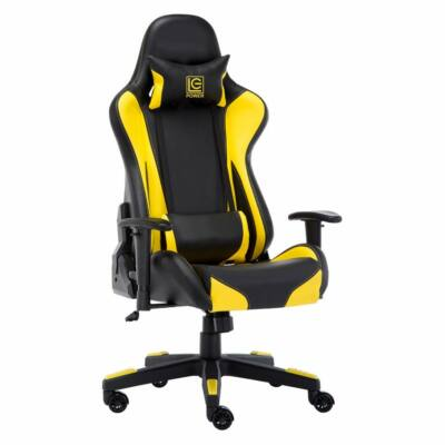 LC Power LC-GC-600BY Gaming Chair Black/Yellow