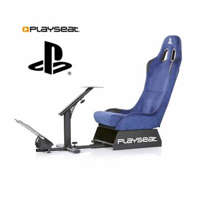 Playseat Evulution PlayStation Edition Simulator Cockpit Chair Blue