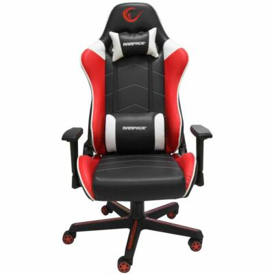 Rampage KL-R79 Comfort Gaming Chair Black/Red