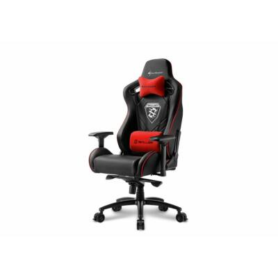 Sharkoon Skiller SGS4 Gaming Chair Black/Red