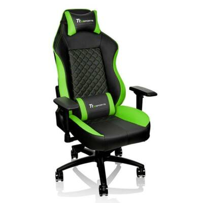 Thermaltake TT eSports GT Comfort 500 Gaming Chair Black/Green