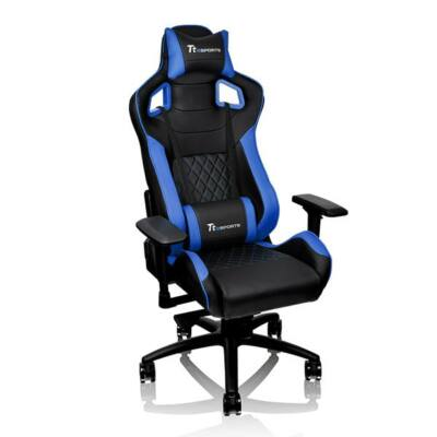 Thermaltake TT eSports GT Fit 100 Gaming Chair Black/Blue