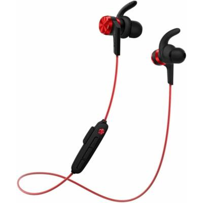 1More Stylish IBFree Sport Bluetooth Headset Red