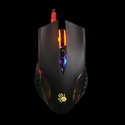 A4-Tech Bloody Q50 Neon X''Glide Gaming mouse Black