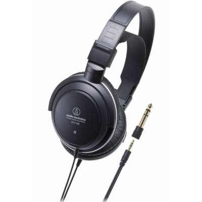 Audio-technica ATH-AVC200 Headphones Black