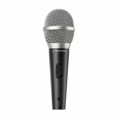 Audio-technica ATR1500X Unidirectional Dynamic Vocal/Instrument Microphone Black/Silver