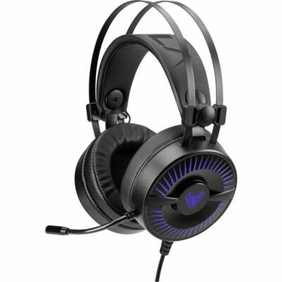 Aula Cold Flame Gaming Headset Black