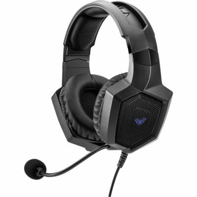 Aula Heleus 7.1 Gaming Headset Black