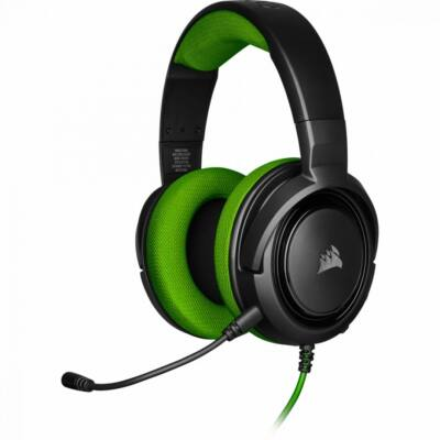 Corsair HS35 Gaming Headset Black/Green