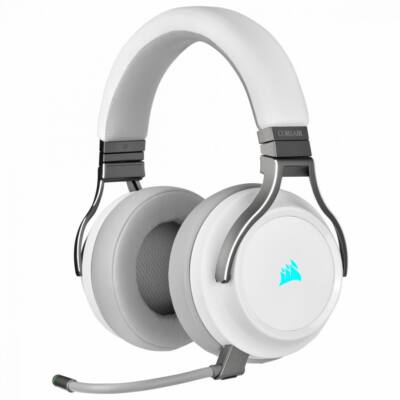 Corsair Virtuoso RGB Wireless High-Fidelity Gaming Headset White