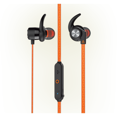Creative Outlier Sports Orange Ultra-light Wireless Sweat-proof In-ear Headphones