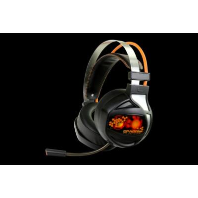 Dragon War Rider Gamer Headset Black