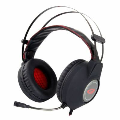 Esperanza EGH440 NightCrawler Gaming Headset Black/Red