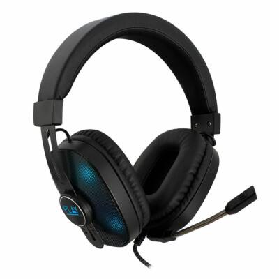 Ewent PL3321 RGB Gaming Headset Black