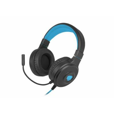 FURY Warhawk RGB gaming headset Black/Blue