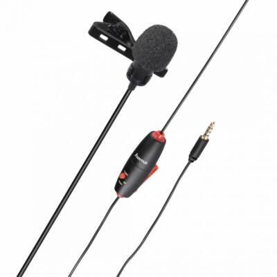 Hama Smart Lavalier Microphone Black