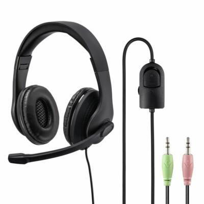 Hama HS-P200 PC Headset Black