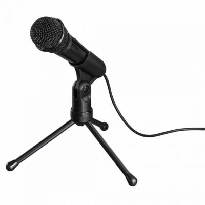 Hama MIC-P35 Allround Microphone for PC and Notebook Black