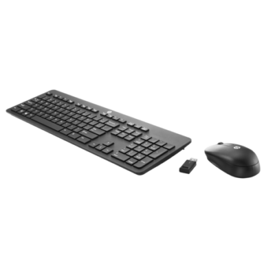 HP Wireless Silm Keyboard + Mouse Black HU