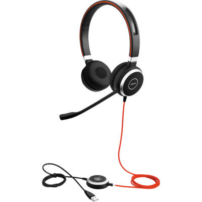 Jabra Evolve 40 MS Duo USB Black