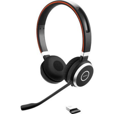 Jabra Evolve 65 MS Duo Bluetooth USB Black