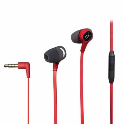 Kingston HyperX Cloud Earbuds Headset Red