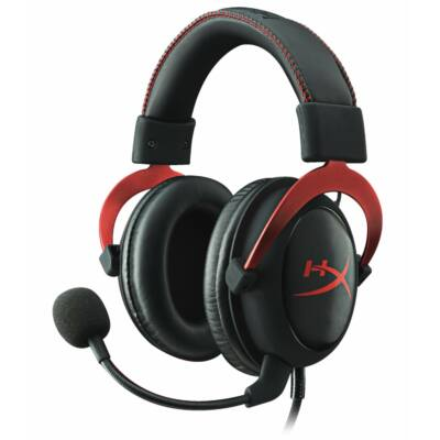 Kingston HyperX Cloud II Headset Black/Red