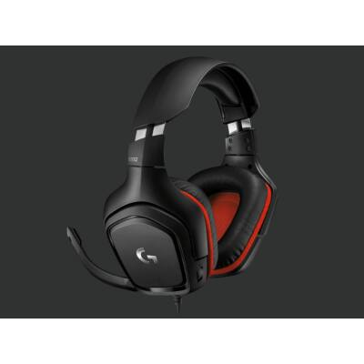 Logitech G332 Gamer Headset Black