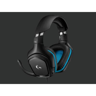 Logitech G432 7.1 Gamer Headset Black