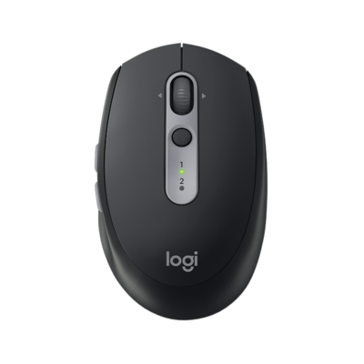 Logitech M590 Multi-Device Silent Wireless Mouse Graphite Tonal
