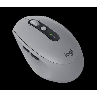 Logitech M590 Multi-Device Silent Wireless Mouse Mid Grey Tonal