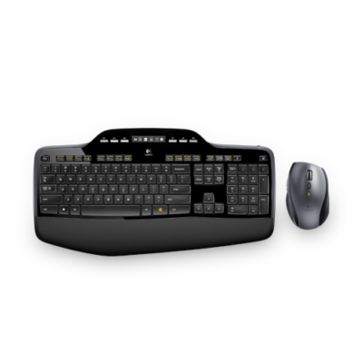Logitech MK710  wireless billentyűzet + egér Wireless Desktop Black