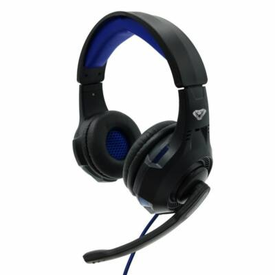 Media-Tech MT3594 Cobra Pro Thrill Headset Black/Blue