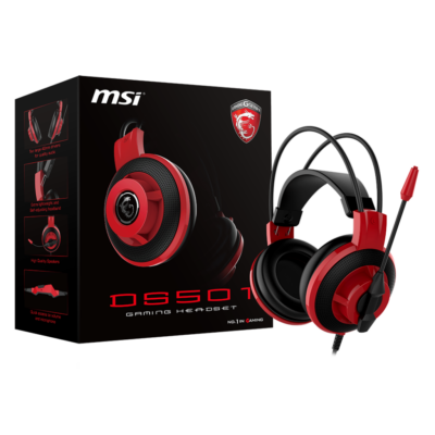 Msi DS501 Gaming Headset Black/Red