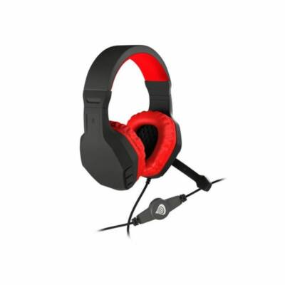 Natec Genesis Argon 200 Gamer Headset Black/Red