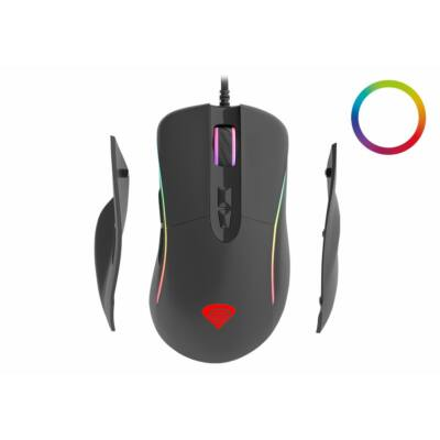 Natec Genesis Xenon 750 RGB Gaming mouse Black