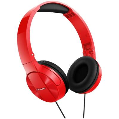 Pioneer SE-MJ503-R Headphones Red