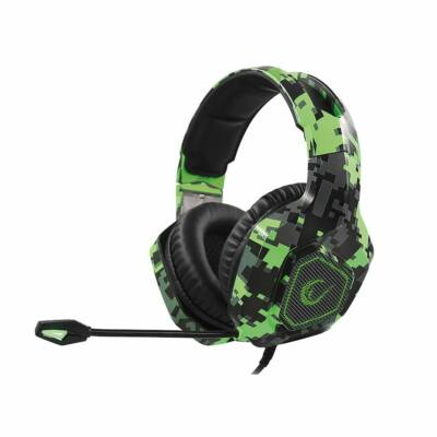 Rampage RM-K8 Crafting RGB Headset Camouflage