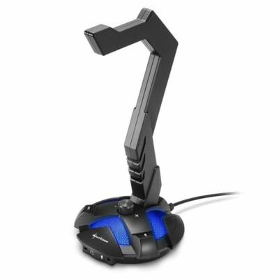 Sharkoon X-Rest 7.1 Headset Stand Black