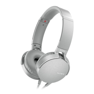 Sony MDR-XB550APW Extra Bass Headset White