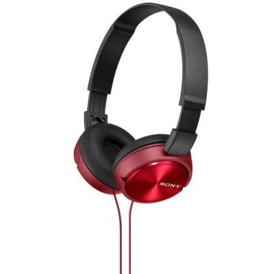 Sony MDR-ZX310R Headphones Red