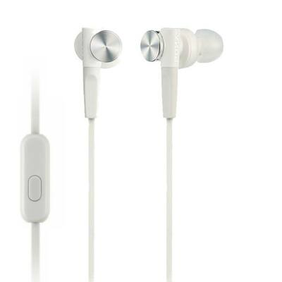 Sony MDRXB50APW Extra Bass Headset White