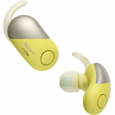Sony WF-SP700N Bluetooth True Wireless Sport Headset Yellow